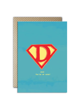 Superman-Dad-Card