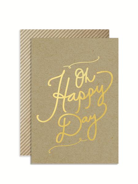 Oh Happy Day Kraft