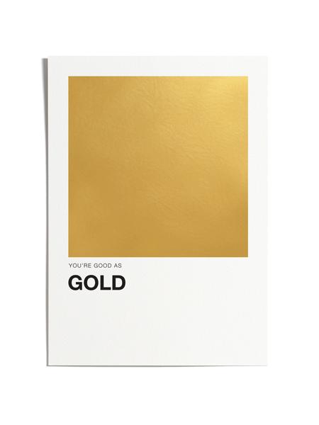 Good As Gold Print