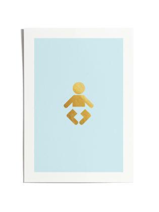 Iconify Baby Boy Print